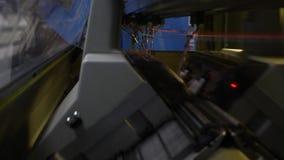 编织的产品的工业机器 影视素材