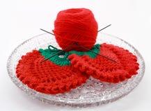 编织的做的产品轮幅 库存照片