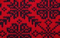 编织的模式 免版税图库摄影