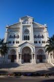 1252 1875编译了大教堂教会被奉献的投入的第一摩纳哥尼古拉斯教区圣徒st对是的站点 图库摄影