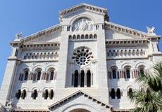 1252 1875编译了大教堂教会被奉献的投入的第一摩纳哥尼古拉斯教区圣徒st对是的站点 库存照片