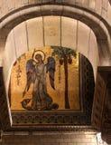 1252 1875编译了大教堂教会被奉献的投入的第一摩纳哥尼古拉斯教区圣徒st对是的站点 库存图片