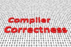 编译器正确性 向量例证