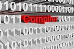 编译器 库存例证