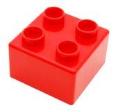 编译塑料的块 免版税库存照片