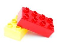 编译塑料的块 库存图片