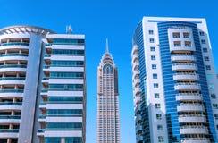 编译大厦企业进展 免版税图库摄影