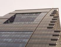 编译大厦企业进展 免版税库存图片