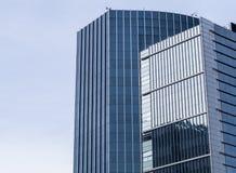 编译大厦企业进展 免版税库存照片
