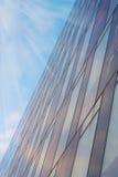 编译现代办公室天空的背景 图库摄影