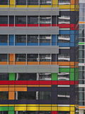 编译的五颜六色的办公室 免版税图库摄影