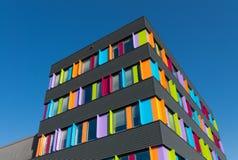 编译的五颜六色的办公室 免版税库存图片
