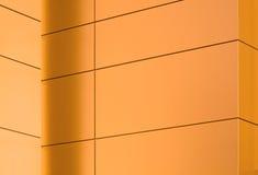 编译的几何现代模式墙壁 免版税图库摄影