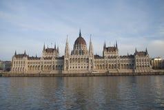 编译的匈牙利议会 免版税图库摄影