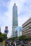 101编译的台北 免版税库存图片