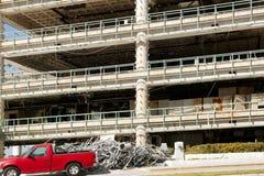编译的商业破坏飓风 免版税库存图片
