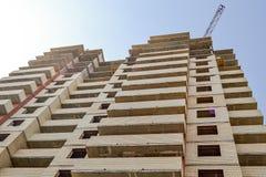 编译的多楼层 一栋多层的居民住房的建筑 住宅Bu的建筑 图库摄影