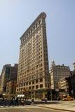 编译的平面的铁纽约 免版税库存照片