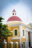 编译的有历史的胡安老波多里哥圣 免版税库存图片