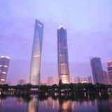 编译的现代上海 免版税图库摄影