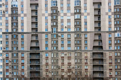 编译的现代住宅 免版税图库摄影