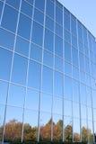 编译的现代办公室视窗 免版税库存照片