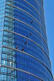 编译的现代办公室 结构上大厦详述现代 免版税图库摄影