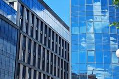 编译的现代办公室 结构上大厦详述现代 图库摄影