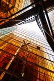 编译的玻璃墙 库存图片