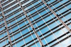 编译的玻璃墙 免版税图库摄影