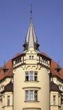 编译的老布拉格 cesky捷克krumlov中世纪老共和国城镇视图 免版税图库摄影
