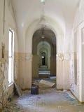 编译的老废墟 库存照片