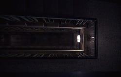 编译的老楼梯 免版税库存照片