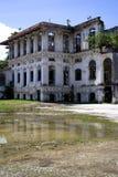编译的被毁坏的乔治遗产城镇 库存照片