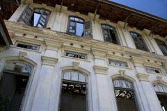 编译的被毁坏的乔治遗产城镇 库存图片