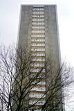 编译的被画的现有量查出的塔向量白色 图库摄影