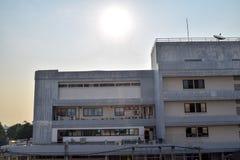 编译的被画的现有量医院例证向量白色 免版税库存照片