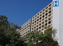 编译的被画的现有量医院例证向量白色 免版税图库摄影