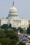 编译的资本dc视图华盛顿 免版税库存图片