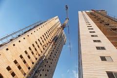 编译的高层建筑物 库存图片