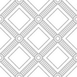 编辑可能的无缝的几何样式瓦片 免版税库存图片