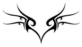 编辑可能的纹身花刺 库存图片