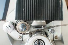 编辑机器卷的超级8电影 图库摄影