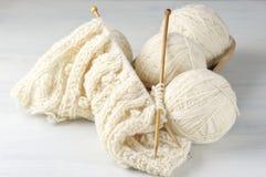编织和毛线 库存照片