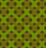 编织无缝的样式的军事 军队抽象结节纹理 图库摄影