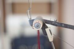 编织机零件 库存照片