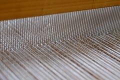 编织的工作 免版税图库摄影