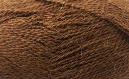 编织的布朗螺纹 库存图片