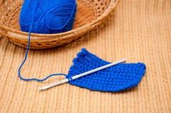 编织的成套工具 免版税图库摄影