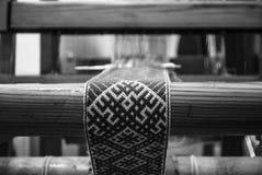 编织的拉脱维亚装饰 免版税库存照片
